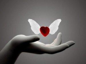Amitié, réciprocité dans Poèmes..... coeur-ange1-300x225